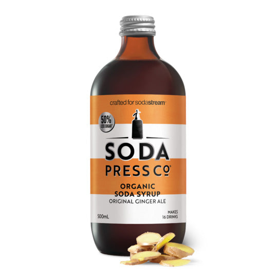 Soda Press Organic Ginger Ale Syrup – 500ml