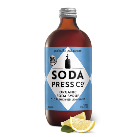 Soda Press Organic Old Fashioned Lemonade Syrup – 500ml