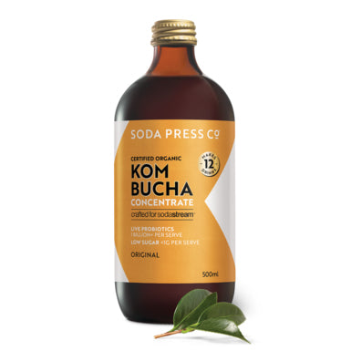 Soda Press Organic Kombucha Syrup – 500ml