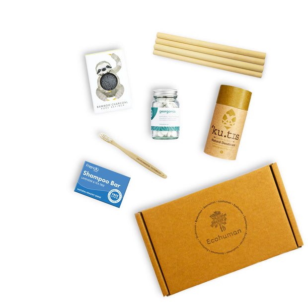 The Plastic Free Ecohuman Box Prepaid