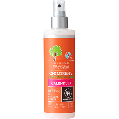 Urtekram Childrens Calendula Spray Conditioner 250ml