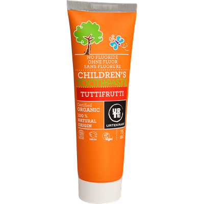 Urtekram Childrens Tuttifrutti Toothpaste 75ml