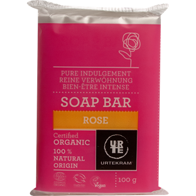 Urtekram Rose Soap Bar 100g