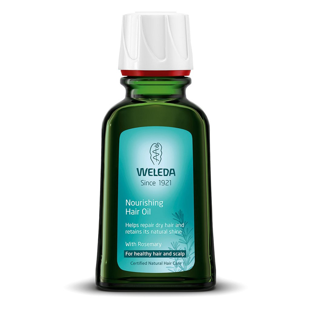 Weleda Nourishing Hair Oil With Rosemary 50ml