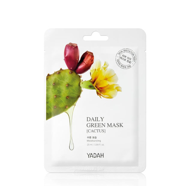 yadah-daily-green-mask-cactus-25ml