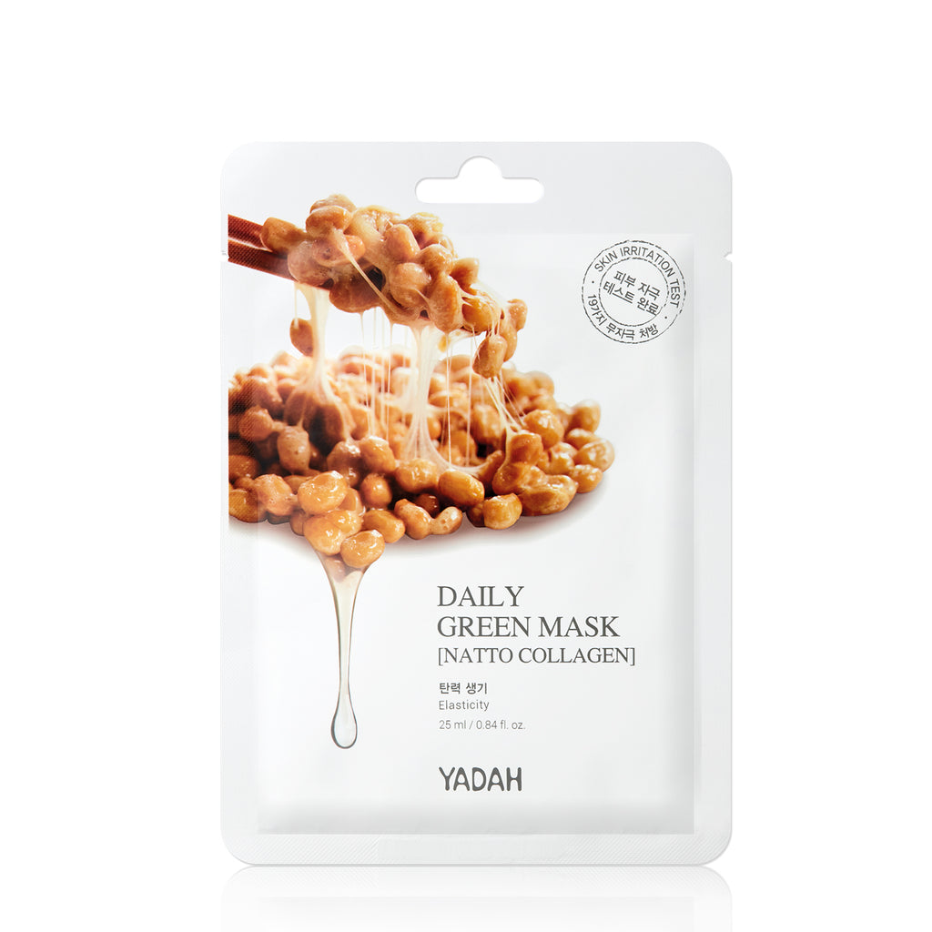 Yadah Daily Green Mask - Natto Collagen
