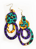 Ankara Rope Earrings
