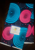 African Print Fabric for sewing - 6 yard