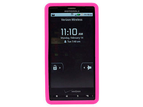 Silicone Case for Motorola Droid® X & Droid X2 - Pink