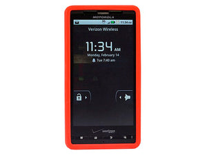 Silicone Case for Motorola Droid® X & Droid X2 - Red