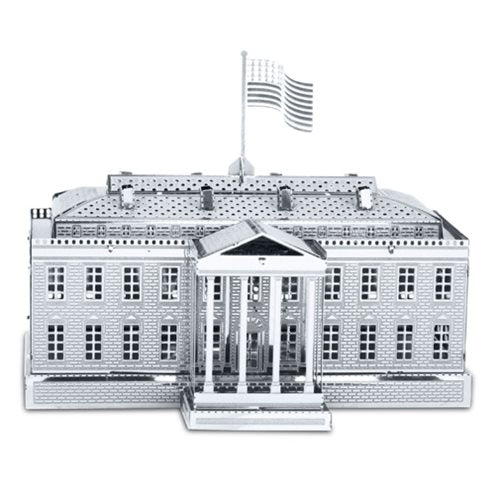 Metal Works 3D White House Laser Cut Model