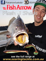 Fish Arrow Flash J Shad 4.5 inch SW Series