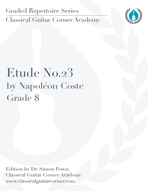 Etude No.23 by Coste
