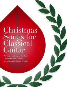 Christmas Songs for Classical Guitar PDF [TAB Version]