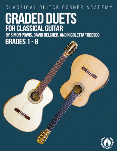 Graded Duets for Classical Guitar [Spiral Bound Edition]