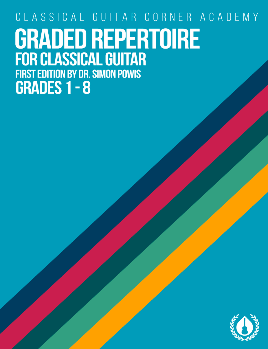 Graded Repertoire for Classical Guitar [Spiral Bound Print Edition]