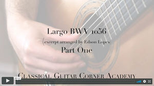 Largo BWV 1056 by J.S. Bach