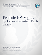 Load image into Gallery viewer, Prelude BWV 999 J.S. Bach [PDF]