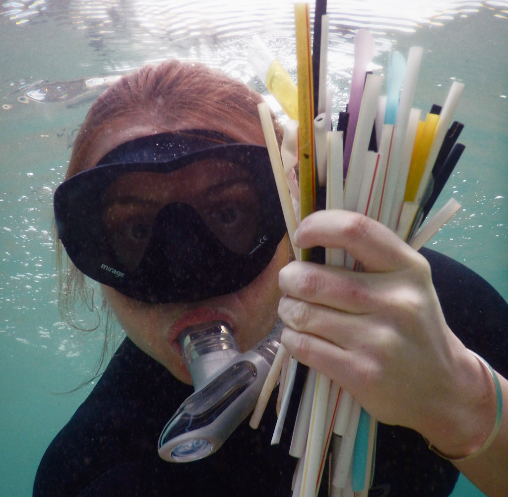 Why are straws so damaging to the marine environment?