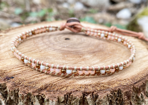 Anklet - Golden Peach (Tan)