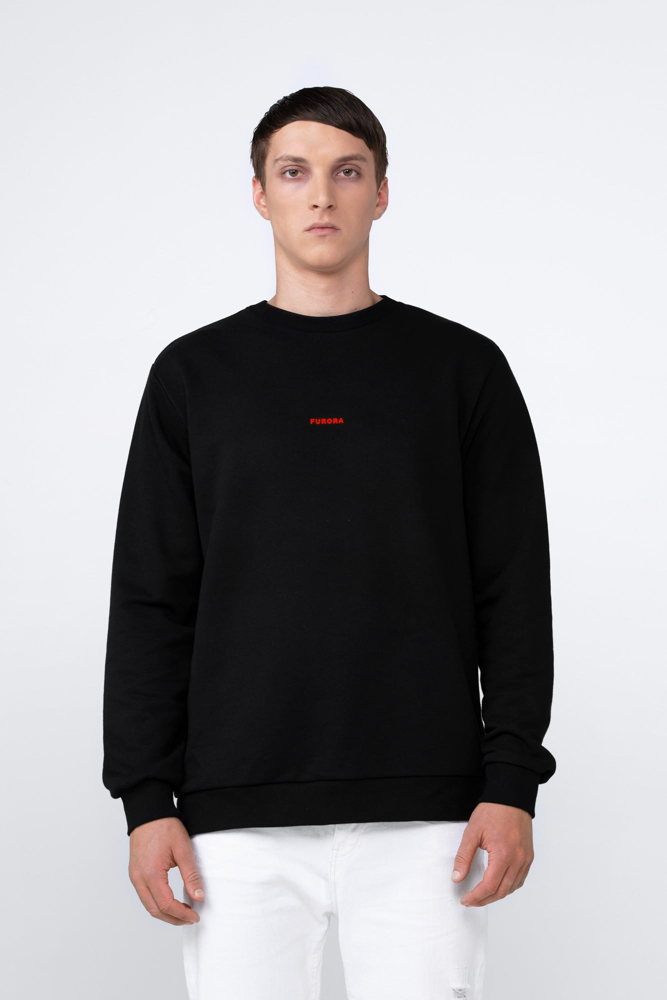 SWEATSHIRT LOGO RED
