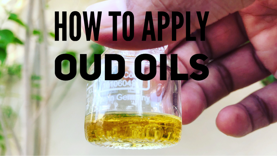 How to apply oud oils?