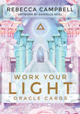 Work Your Light Oracle Deck Oracle Deck - Hekatos Healing Crystals and Spirituality Supplies