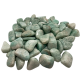 Amazonite Tumbled Crystal Tumbled Crystal - Hekatos Healing Crystals and Spirituality Supplies
