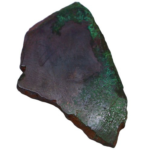 Polished Cuprite & Malachite Slice Slices & Slabs - Hekatos Healing Crystals and Spirituality Supplies