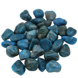 Blue Apatite Tumbled Crystal Tumbled Crystal - Hekatos Healing Crystals and Spirituality Supplies