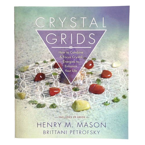 Crystal Grids Book Book - Hekatos Healing Crystals and Spirituality Supplies