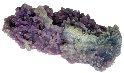 Druzy Grape Agate (Particular Piece) Crystal Cluster - Hekatos Healing Crystals and Spirituality Supplies