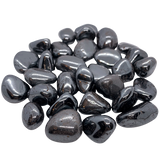 Hematite Tumbled Stone Tumbled Crystal - Hekatos Healing Crystals and Spirituality Supplies