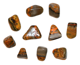 Bumble Bee Jasper Tumbled Crystal