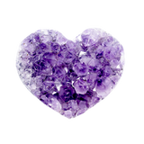 Amethyst Cluster Heart Crystal Cluster - Hekatos Healing Crystals and Spirituality Supplies