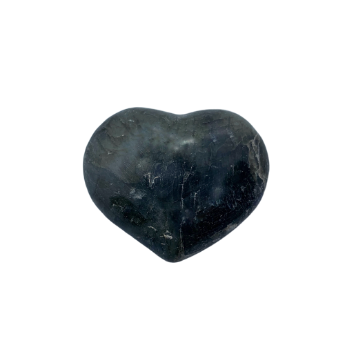Labradorite Heart Stone Heart Stone - Hekatos Healing Crystals and Spirituality Supplies