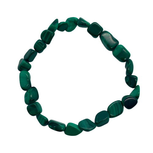 Malachite Bracelet Bracelet - Hekatos Healing Crystals and Spirituality Supplies