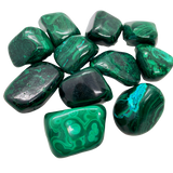 Malachite Tumbled Crystal Tumbled Crystal - Hekatos Healing Crystals and Spirituality Supplies