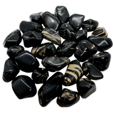 Onyx Tumbled Crystal Tumbled Crystal - Hekatos Healing Crystals and Spirituality Supplies