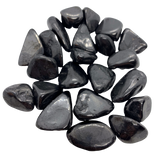 Shungite Tumbled Stone Tumbled Crystal - Hekatos Healing Crystals and Spirituality Supplies