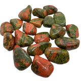 Unakite Tumbled Crystal Tumbled Crystal - Hekatos Healing Crystals and Spirituality Supplies