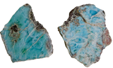 Larimar Polished Slab Slices & Slabs - Hekatos Healing Crystals and Spirituality Supplies