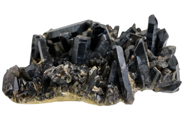 Morion (Black Quartz) Cluster Crystal Cluster - Hekatos Healing Crystals and Spirituality Supplies