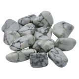 Howlite Tumbled Stone Tumbled Crystal - Hekatos Healing Crystals and Spirituality Supplies