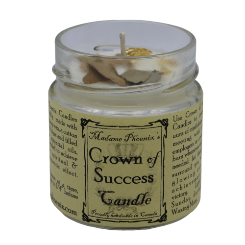 Crown of Success Candle Candle - Hekatos Healing Crystals and Spirituality Supplies