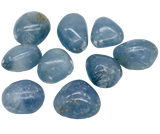 Celestite Tumbled Crystals Tumbled Crystal - Hekatos Healing Crystals and Spirituality Supplies