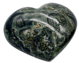 Kambaba Jasper Heart (Large) Heart Stone - Hekatos Healing Crystals and Spirituality Supplies