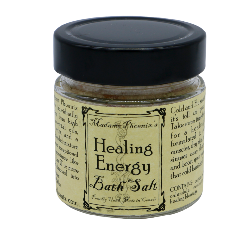 Healing Energy Magical Bath Salts Bath Salts - Hekatos Healing Crystals and Spirituality Supplies