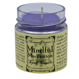 Mindful Meditation Candle Candle - Hekatos Healing Crystals and Spirituality Supplies