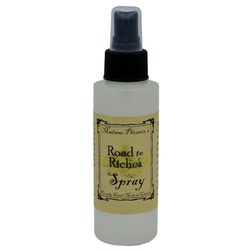 Road to Riches Spray Spray - Hekatos Healing Crystals and Spirituality Supplies